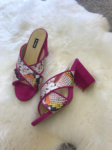 CANDYCE Leather Heels