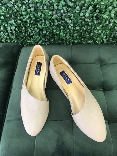 SUE Leather Flat