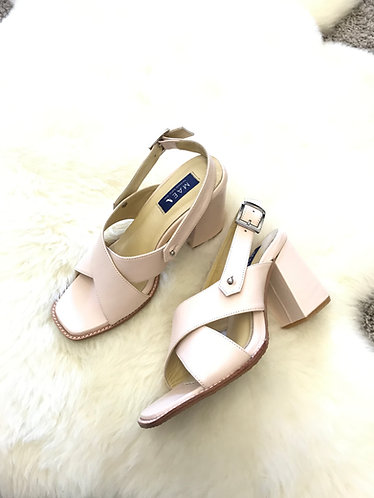 MADISON Two-Way Leather Heels