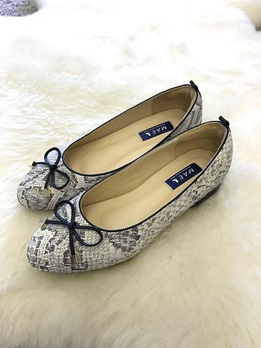 PAMELA Leather Flat Shoes