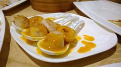 芒果醬汁煎带子