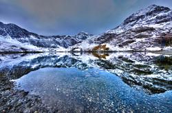 snowdon reflection