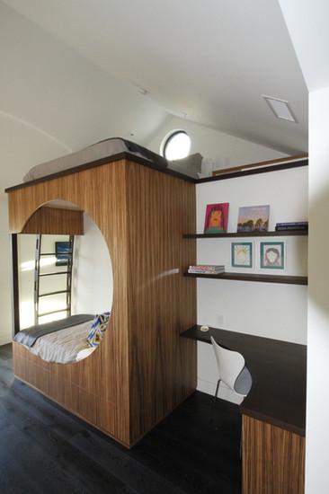 Modern Bunk Bed & Desk