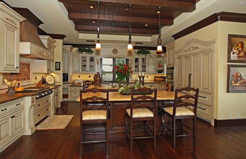 Detailed Kitchen Cabinets