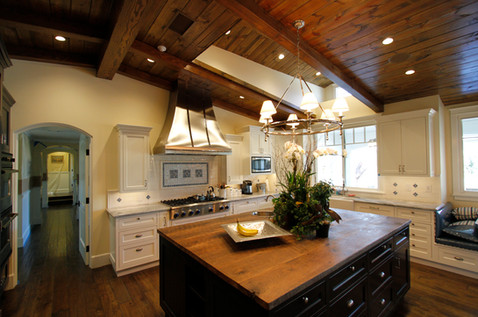 Farmhouse-Style Kitchen Cabinets