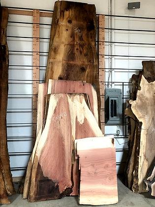 Live Edge Redwood Slabs