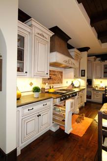 Detail on Kitchen Cabinets