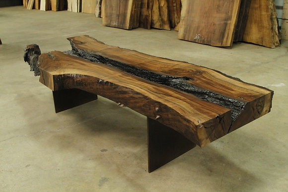 Walnut Heartburn Coffee Table