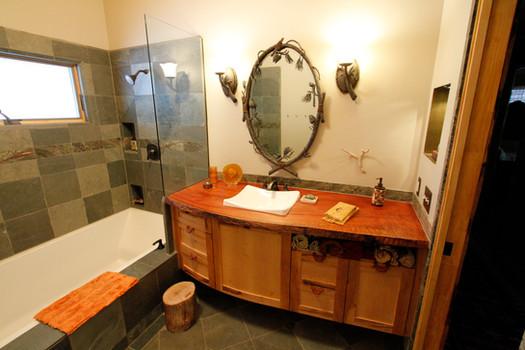 Detailed Bathroom Vanity
