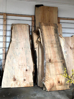 Live Edge Torrey Pine Slabs
