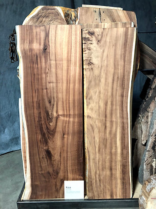 Live Edge Koa Slabs