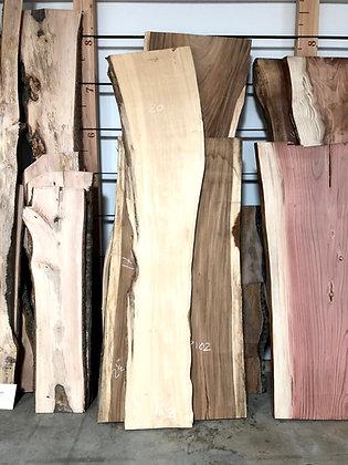 Cedar (Deodar) Live Edge Slabs