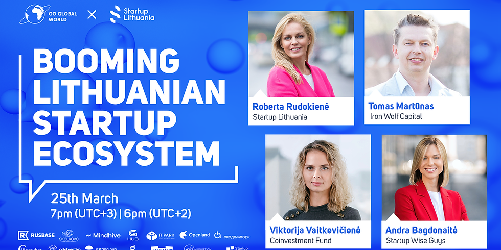 BOOMING LITHUANIAN STARTUP ECOSYSTEM
