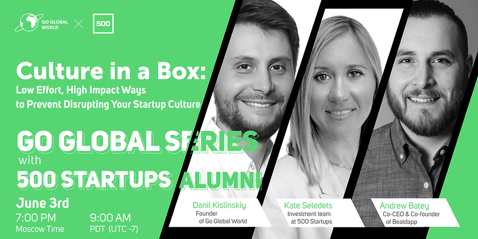 Culture in a Box: Low Effort, High Impact Ways to Prevent Disrupting Your Startup Culture