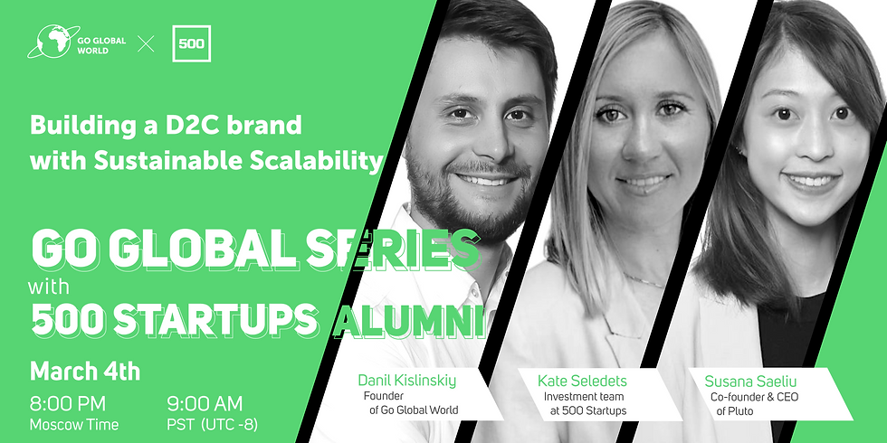 Building a D2C brand with Sustainable Scalability
