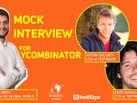 Y Combinator Startup Mock Interview