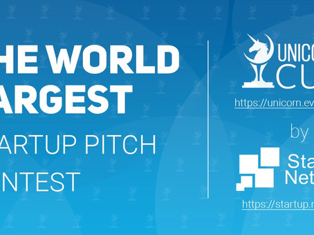 THE WORLD  LARGEST. Startup pitch contest