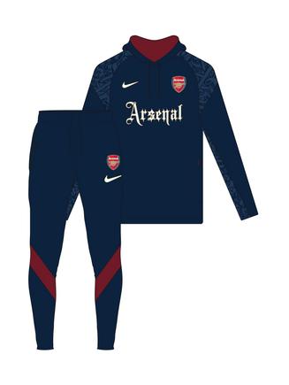 Arsenal Hoodie & Skinny Pant
