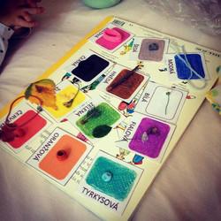 Playing with colors... Barevná výměna...hrátky s barvami. #playeveryday #barvy #colors #vymena  www.