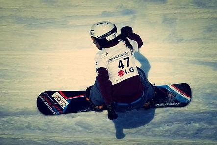Martina Krejčová Chomátová snowboardcross