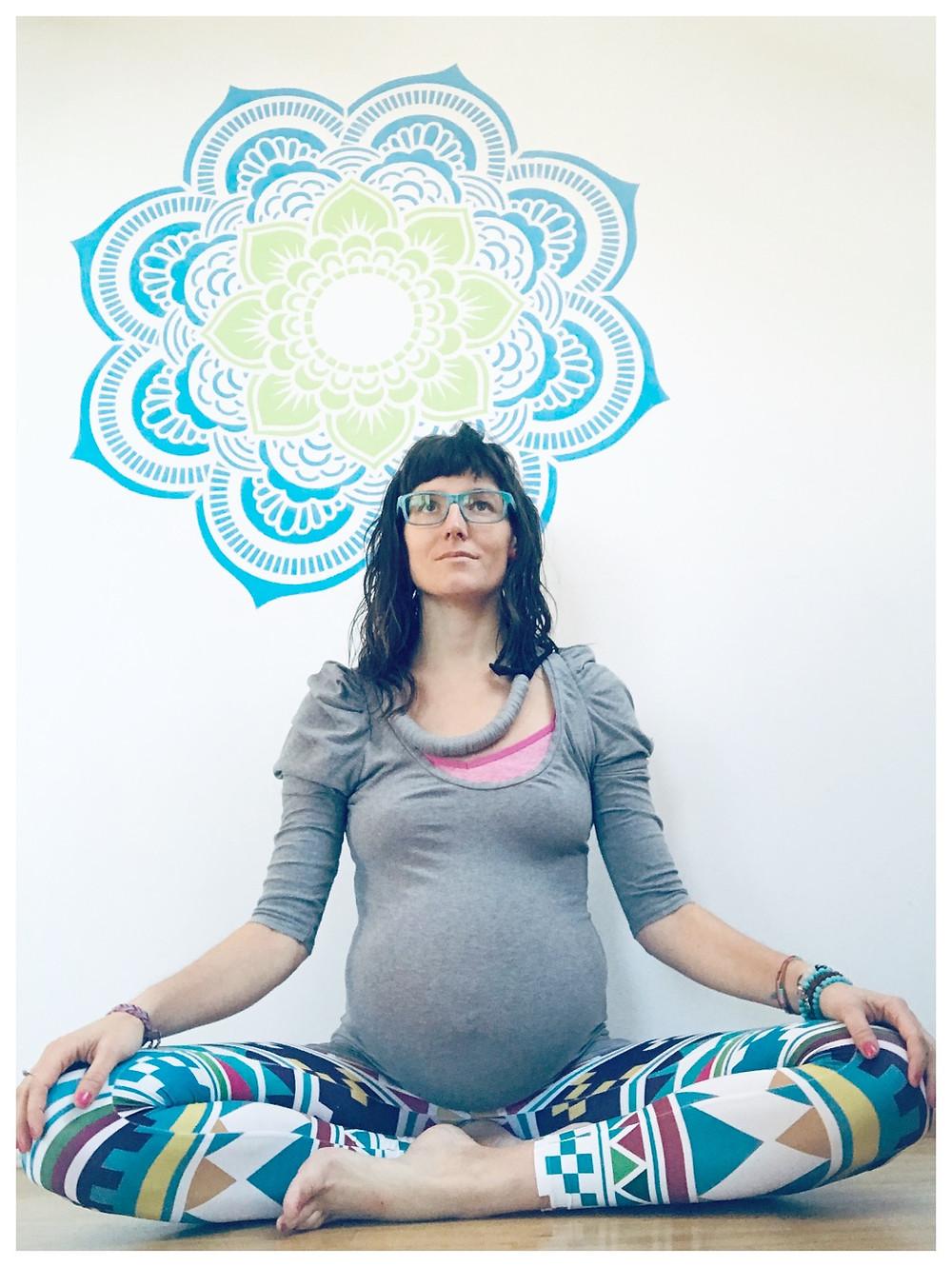 Martina Chomátová, těhotenství