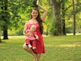 Jóga pro děti a vlastní cesta mateřstvím