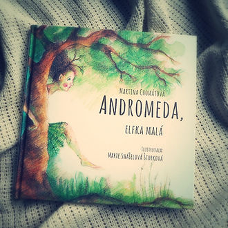 Andromeda, elfka malá