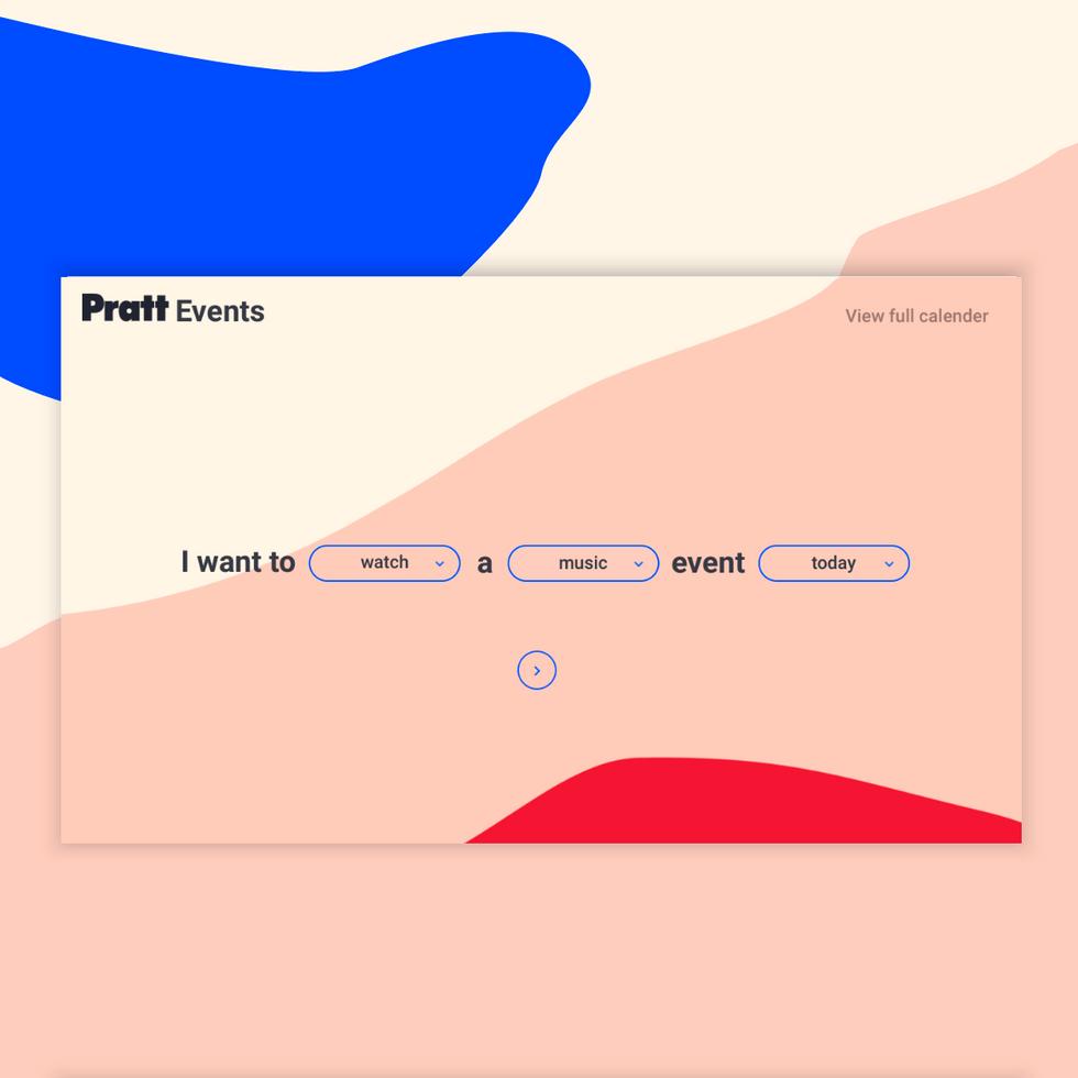 Pratt Events- UX\UI