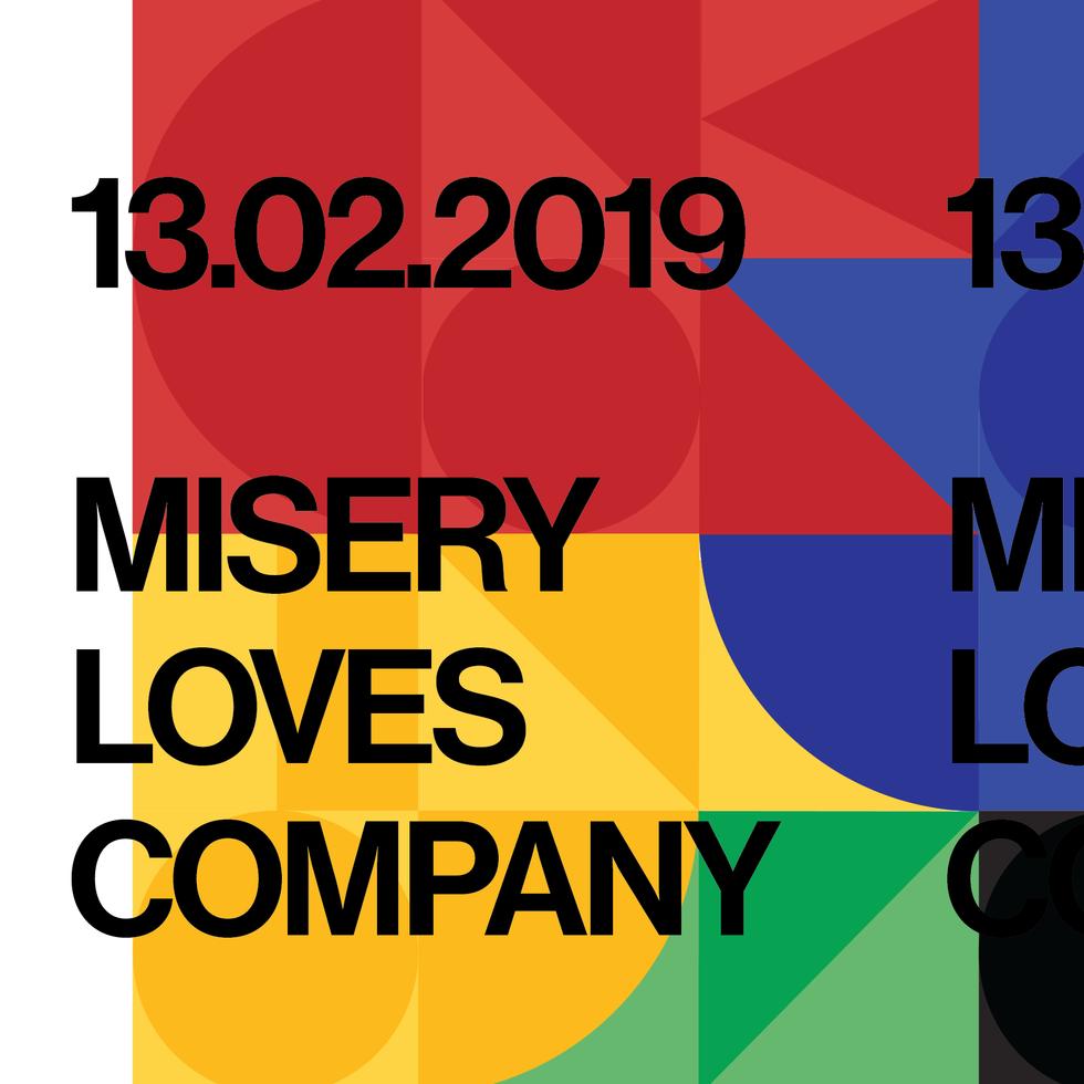 Misery Loves Company - Interactive installation
