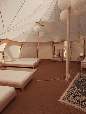 עיצוב מתחם אוהלי אירוח בסגנון בוהו שיק03