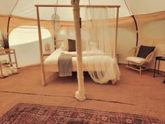19עיצוב מתחם אוהלי אירוח בסגנון בוהו שיק