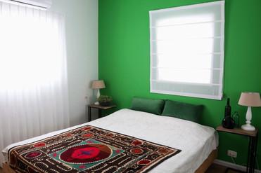 עיצוב חדר שינה בסגנון אקלקטי