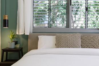 עיצוב חדר שינה בסגנון בוהו שיק