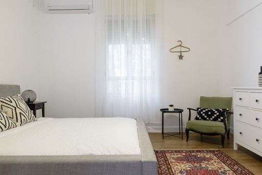 חדר שינה מעוצב airbnb