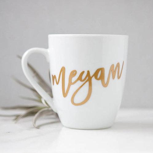 Single Custom Mug - White