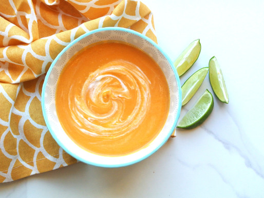 Thai Coconut Butternut Squash Soup