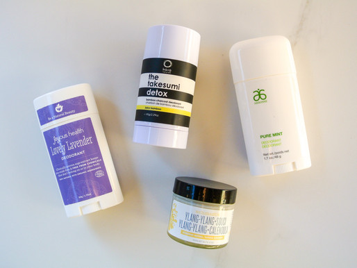 Making the Switch to Natural Deodorant