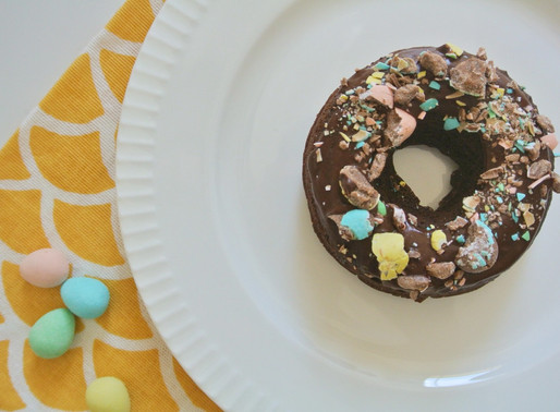 Healthy Double Chocolate Donuts