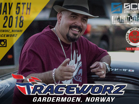 """Noel G - a.k.a. """"Hector"""" is coming to Raceworz Norway"""