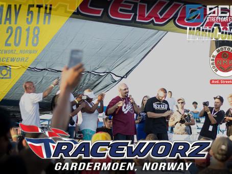 Raceworz taking Norway