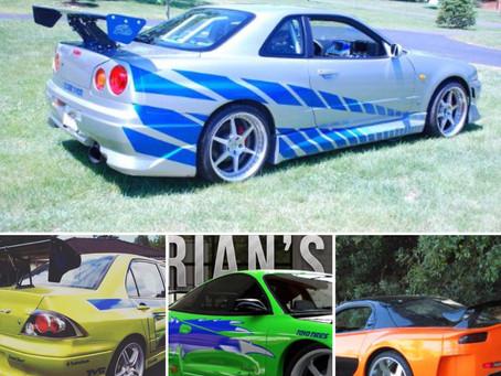 Original moviecars to Raceworz