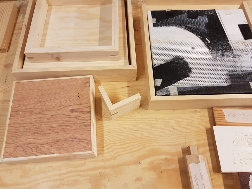 Framing samples