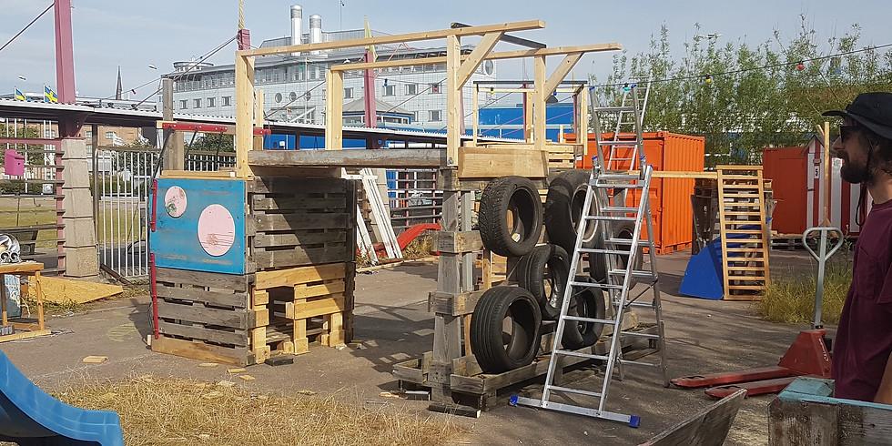 Blandat Material och Kartong Spela -Upcycled Playspace at Pixla Piren (5)