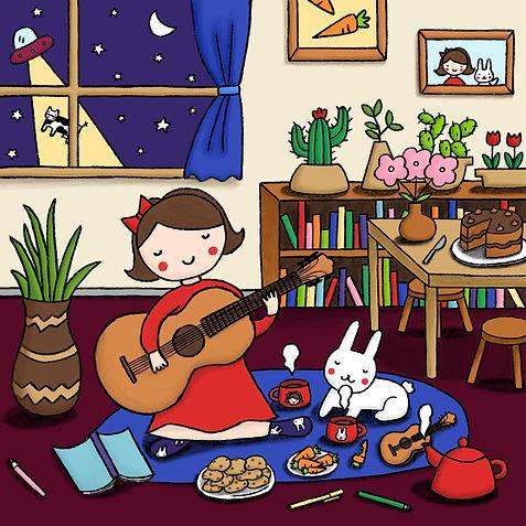 girl & rabbit at home.JPG