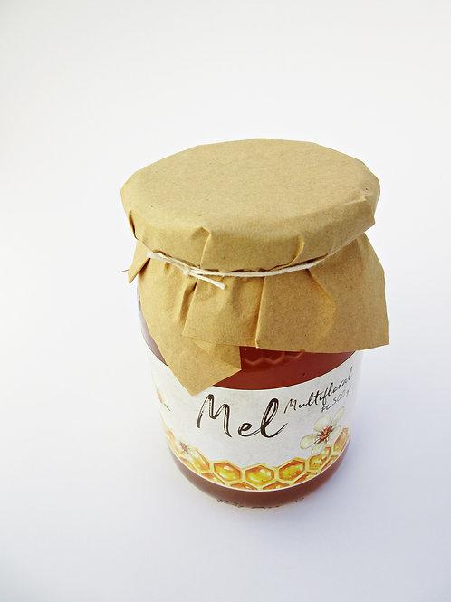 Mel Multifloral (frasco +-500 gr)