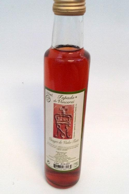 Vinagre Vinho Tinto 0,25 Litros