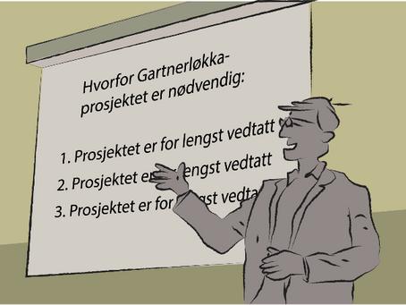 Gartnerløkka – et prosjekt i et kneblet demokrati ?