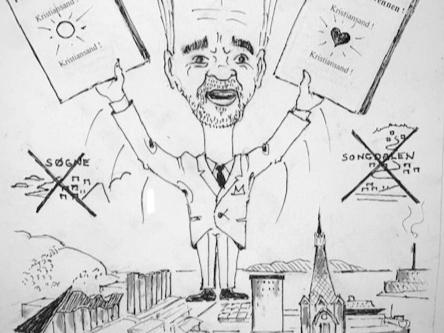 «Stanken fra rådhuset i Søgne» og andre eventyr fra redaktørene i Fædrelandsvennen