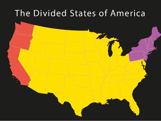 USA - et splittet land