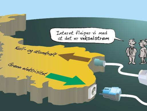 """Biostrøm """"aus Norwegen"""""""